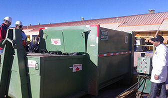 residuos contenedor