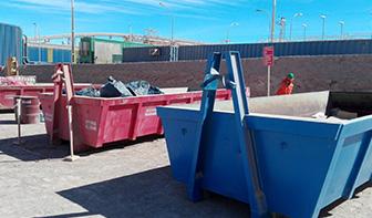 residuos contenedores de basura