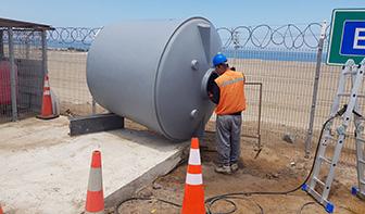 estanque agua potable instalacion
