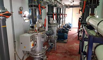instrumento sistema de agua