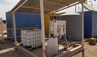 sistema de manejo de agua