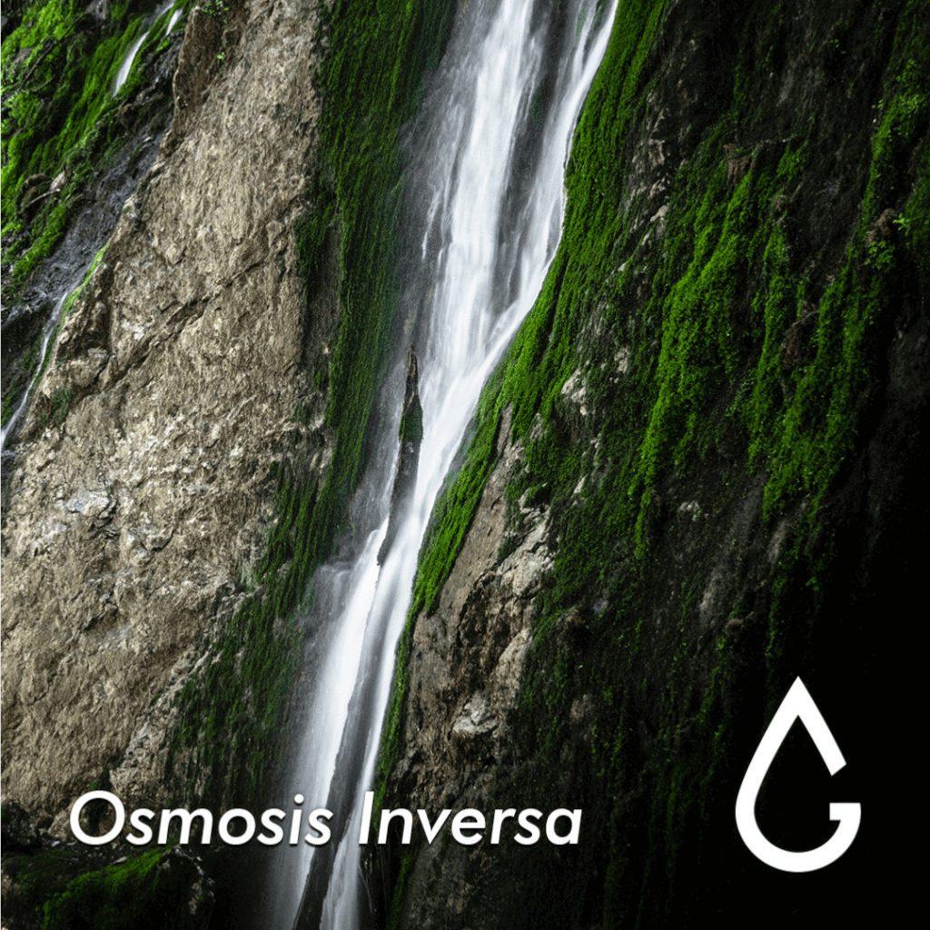 agua de mar a potable osmosis inversa