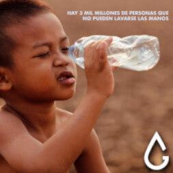 personas no tienen acceso al agua